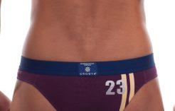 Men's underwear by Croota. Inner Sport Purple Bikini