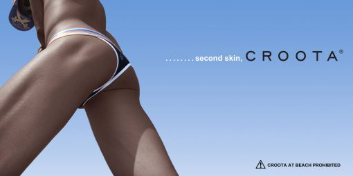 Second Skin Thong by Croota