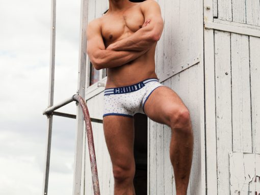 mens underwear by Croota. Snowy Mountain