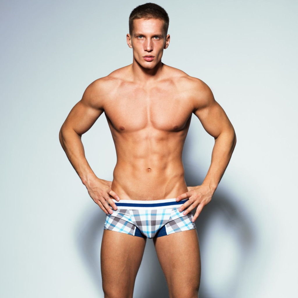 Tartan Forever Boxer Brief (Brown/Blue) by Croota of Australia